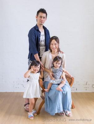 家族皆で写そう、家族写真