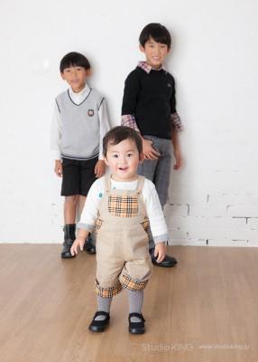 家族写真・ファミリーフォトの撮影は香川県三豊市・キング写真館へ。