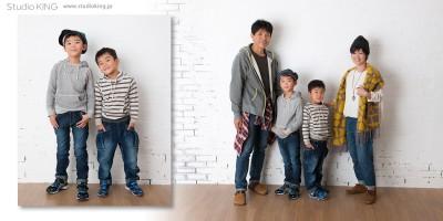 ファミリーフォト、家族写真の撮影は香川県三豊市・キング写真館へ
