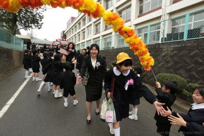小学校・卒業式