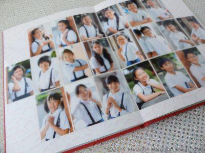学校アルバム生徒写真