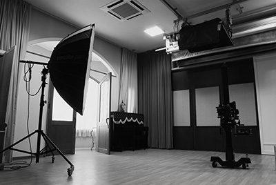 香川県・キング写真館・スタジオ