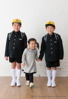 入園・入学記念写真はキング写真館