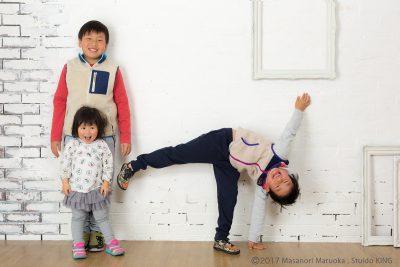 三豊市キング写真館で撮影する子供写真