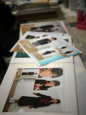 入学記念写真撮影