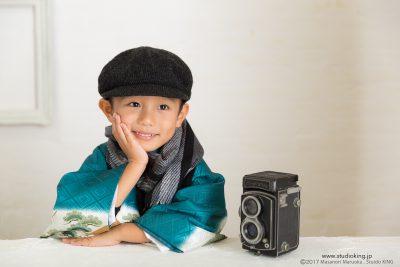 香川県三豊市・キング写真館で写す記念写真