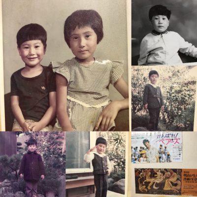 普段着で撮影する家族写真